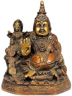 Lord Kubera and Goddess Lakshmi