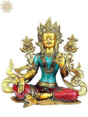 (Tibetan Buddhist Deity) Saviour Goddess Green Tara
