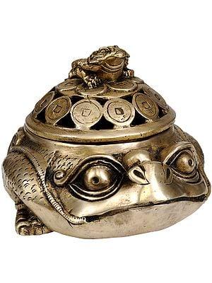 Tibetan Buddhist Feng Shui Frog