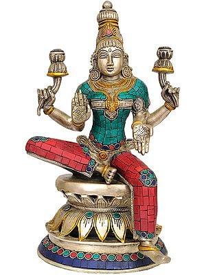 Goddess Lakshmi (Inlay Statue)