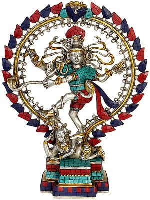 Lord Shiva as Nataraja  (Inlay Statue)