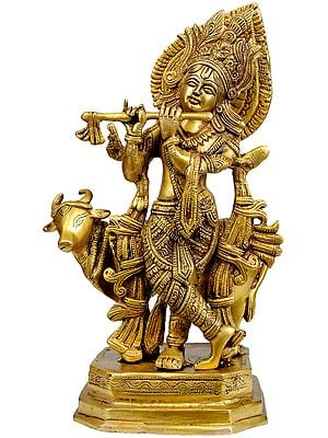 Venugopala (Fluting Krishna with His Cow)