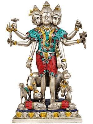 Bhagavan Dattatreya (Inlay Statue)