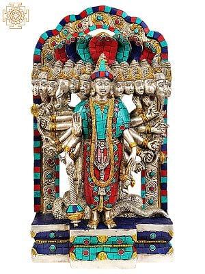 Vishvarupa Vishnu (Inlay Statue)