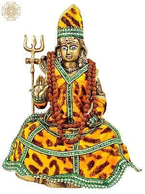 Lord Shiva in Yogi Dress
