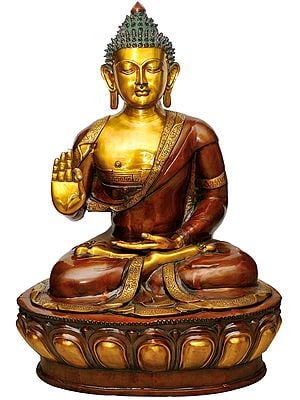 Large Size Lord Buddha in Abhay-Mudra