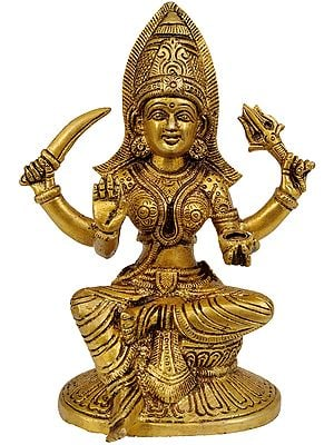 Santoshi Mata (The Goddess who Grants the Boon of Contentment)