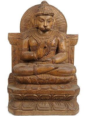Lord Hanuman Peaching the Ramayana