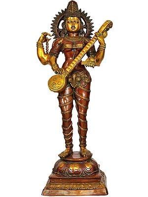 Large Size Devi Saraswati