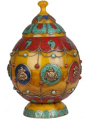 Tibetan Buddhist Ritual Buddhist Vase