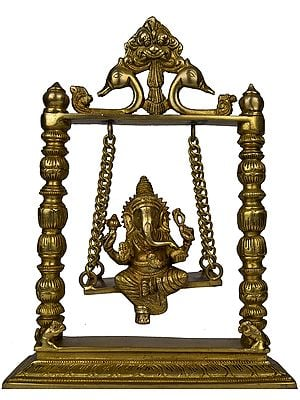 Lord Ganesha on Swing