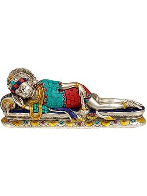 Reclining Hanuman