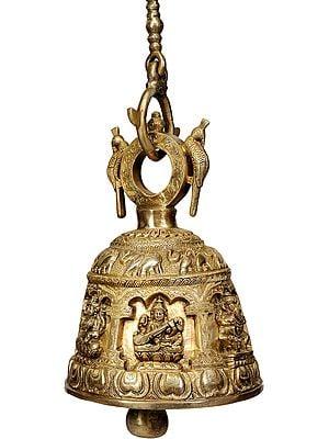 Ganesh Lakshmi Saraswati Bell