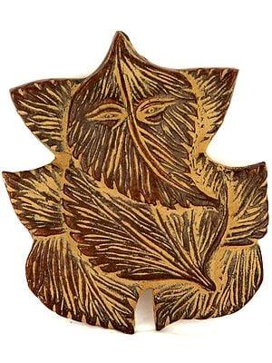 Pipal Leaf Ganesha (Wall Hanging)