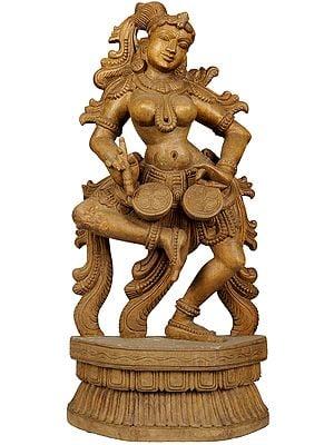Musician Lady-Apsara