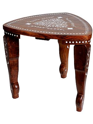Stool with Inlay