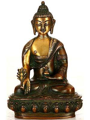 Tibetan Buddhist God The Medicine Buddha