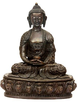 Buddha with Superbly Carved Robe