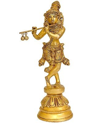 Flute-Playing Krishna