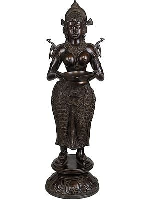 Large Size Goddess Deepalakshmi