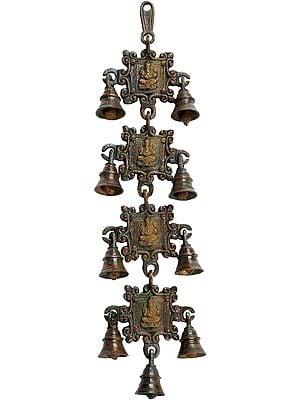 Ganesha Hanging Bell