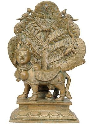 The Celestial Cow Kamadhenu