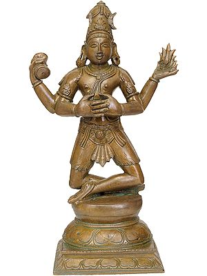 Lord Shiva Performing 'Pashupat-Yoga'