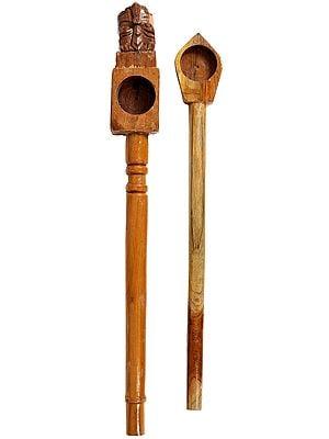Homa Spoon for Vedic Sacrifices (Yajna)