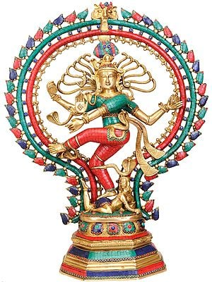 Large Size Nataraja (Inlay Statue)