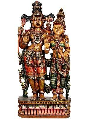 Large Size Shiva-Parvati (The Ideal Householders)