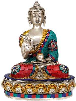 Lord  Buddha Interpreting His Dharma