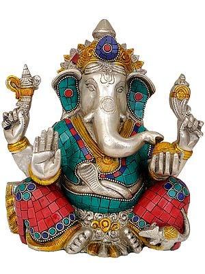 Four-Armed Seated Ganesha