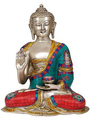 Gautama Buddha Interpreting the Law of Dharma
