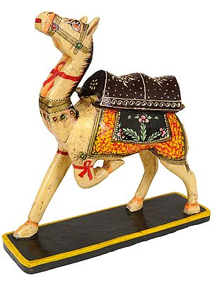 Decorative Saddled Camel