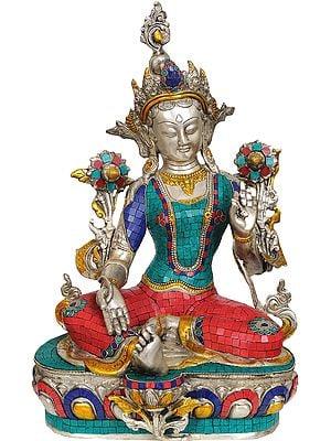 Tibetan Buddhist Saviour Goddess Green Tara