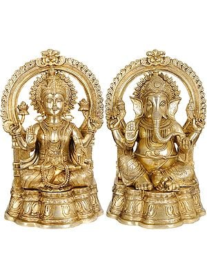 Large Size Lakshmi Ji Ganesha Ji