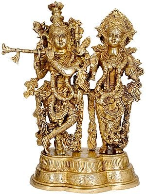 Radha Krishna the Eternal Lovers