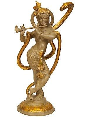 Sri Krishna and Kaliya
