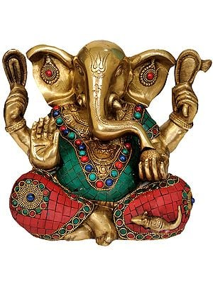 Lord Ganesha with Large Ears