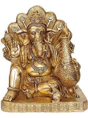 Mayur Ganesha (Ganapati with Peacock)