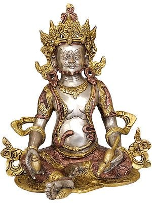 Tibetan Buddhist Deity Kubera - The God Who Gives Money