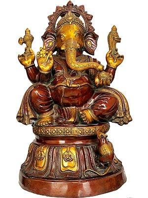 Large Size Bhagawan Ganesha