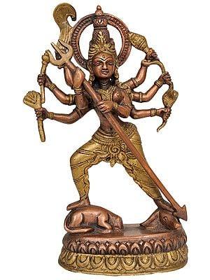 Mahishasura-Mardini Durga (A Dynamic Image of Goddess Durga)