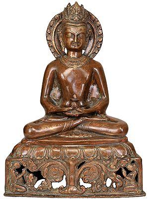 Crowned Buddha (Tibetan Buddhist Deity)