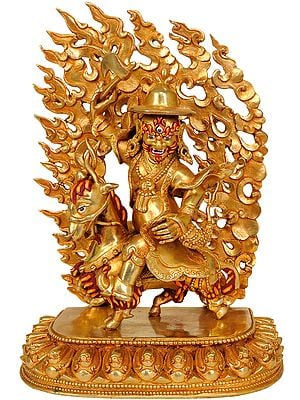 Gyalpo Pehar (Tibetan Buddhist Protector Deity)