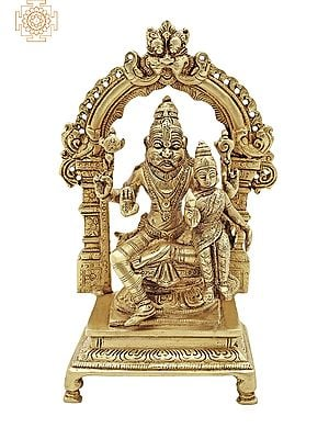 Lord Narasimha with His Shakti