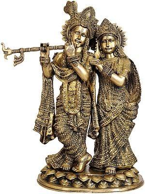 Large Size Radha Krishna