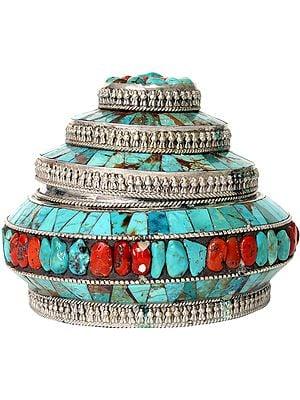 Tibetan Buddhist Mount Meru Box