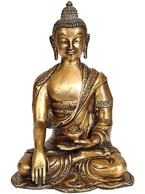 Lord Buddha in the Bhumisparsha Mudra