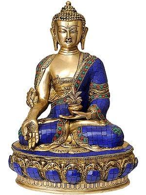 Tibetan Buddhist Deity-  Lapis Buddha of Healing (Medicine Buddha)